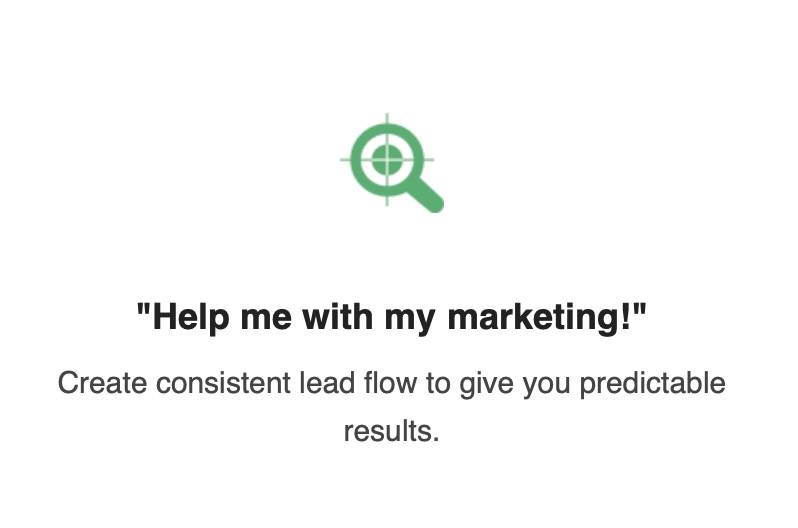 Help me with my marketing!